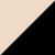 2X0055-BLACK/BEIGE