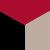 3X0031-Red/Black/Beige