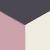 3X0040-Grey/Pink/Ivory